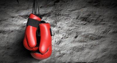 Fotomural Luvas de boxe