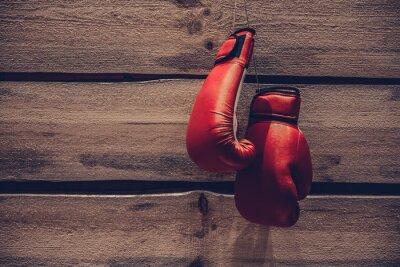 Fotomural Luvas de boxe.