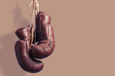 Fotomural Luvas de boxe suspensão velha