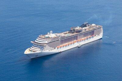 Fotomural Luxuoso navio de cruzeiro.