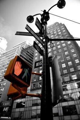 Fotomural luz intermitente Nova Iorque boradway