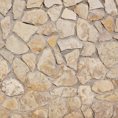 Fotomural luz velho muro de fundo de pedra