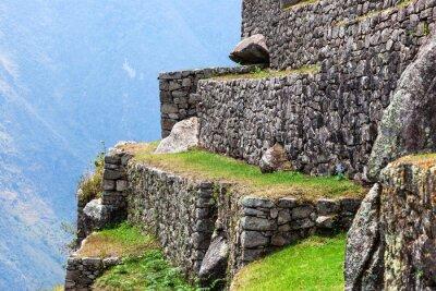 Fotomural Machu Picchu, as antigas muralhas