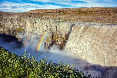 Fotomural Magnífica cachoeira Dettifoss