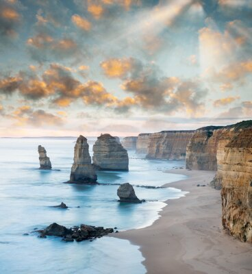 Fotomural Magnificência de 12 Apóstolos, Austrália