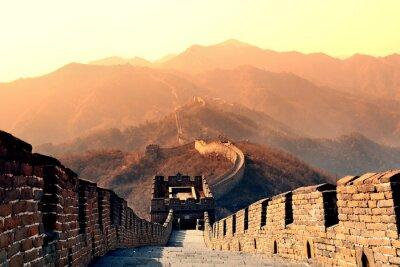 Fotomural Manhã da Grande Muralha