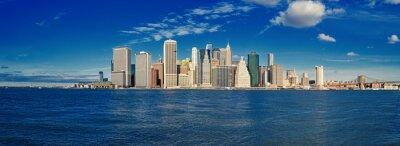 Fotomural Manhattan em um dia ensolarado.