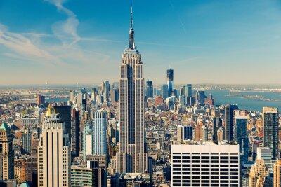 Fotomural Manhattan vista aérea
