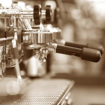 Fotomural Máquina de café expresso