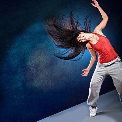 Fotomural menina de dança