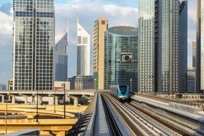 Fotomural Metro de Dubai
