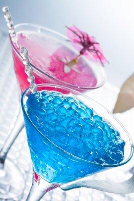 Fotomural Mixologia molecular - Coquetel com caviar