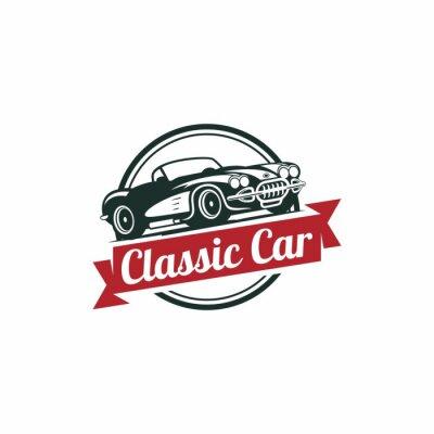 Fotomural Modelo clássico Vector Car