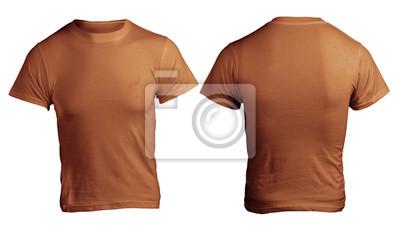 2f216a36e377d Fotomural Modelo masculino Brown camisa em branco
