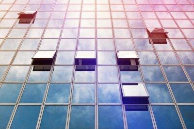 Fotomural Moden Business Office Building Windows