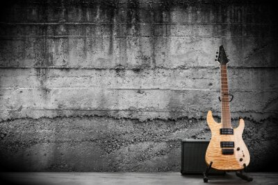 Fotomural Modern electric guitar