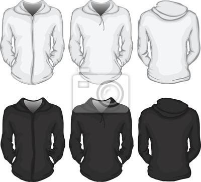 917e29ca1a4e7 Molde da camisa hoodie das mulheres fotomural • fotomurais moletom ...