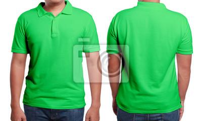 a0af54055b39e Molde verde do projeto da camisa polo fotomural • fotomurais jeans ...