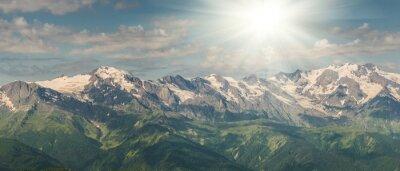 Fotomural Montanhas majestosas