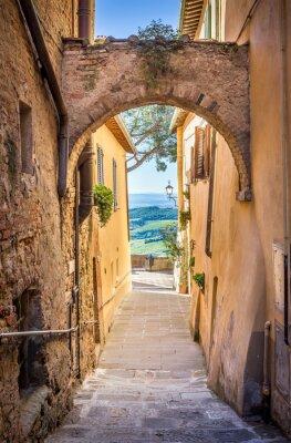 Fotomural Montepulciano em Toscana