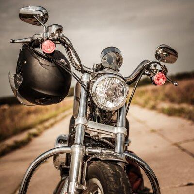 Fotomural Motocicleta na estrada