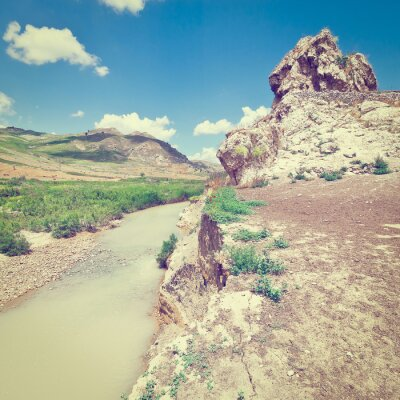 Fotomural Mountain Stream