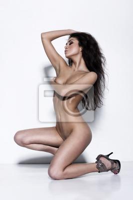 42684d508 Mulher nua com o corpo perfeito fotomural • fotomurais saque