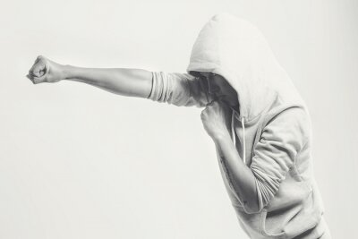 Fotomural Mulheres socos treinamento