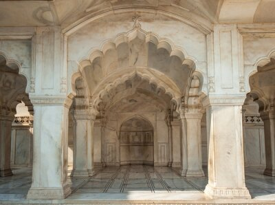 Fotomural Nagina, mesquita, Agra, FORTE, Uttar, Pradesh, índia
