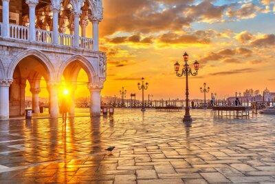 Fotomural Nascer do sol em Veneza