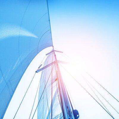Fotomural Navegue no contexto do céu azul