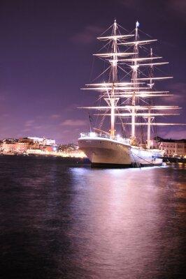 Fotomural navio
