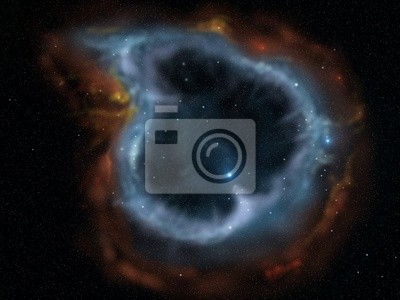 Fotomural nebulosa