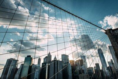 Fotomural New York,Brooklyn Bridge,