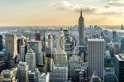 Fotomural New York City Vista Aérea