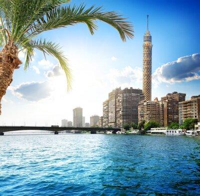 Fotomural Nilo, no Cairo