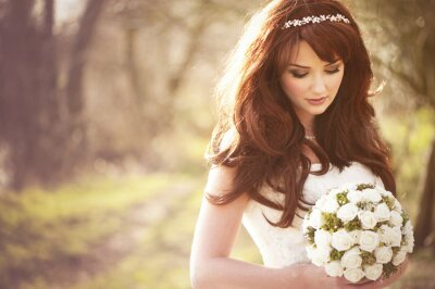 Fotomural Noiva Linda