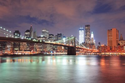 Fotomural Nova York Brooklyn Bridge