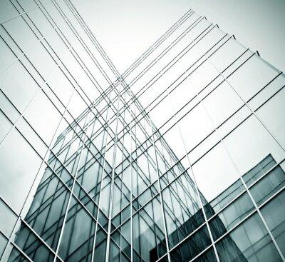 Fotomural novo edifício de escritórios no centro de negócios