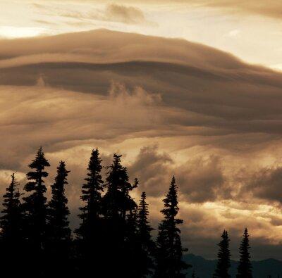 Fotomural Nuvens de tempestade