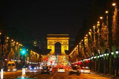 Fotomural O Arco do Triunfo de l'Etoile em Paris