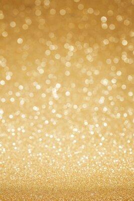 Fotomural O glitter dourado abstrato