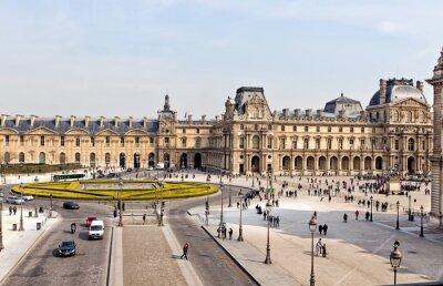 Fotomural O Museu do Louvre, em Paris