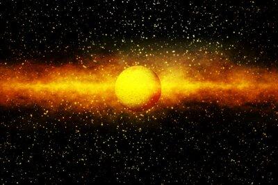 Fotomural O nascimento de uma estrela