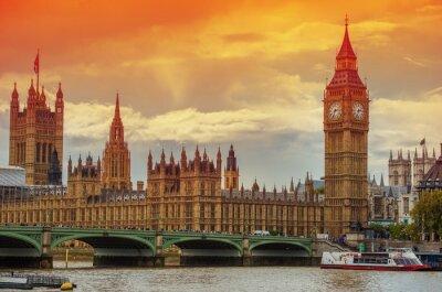 Fotomural O Palácio de Westminster
