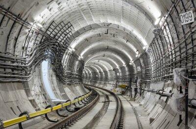 Fotomural O túnel do metrô