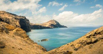 Fotomural Oceano com montanhas