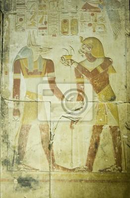 Oferta Seti Farao Anubis Fotomural Fotomurais Farao Oferta Baixo