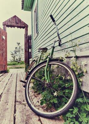 Fotomural Old retro bike.