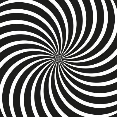 Fotomural Op Art Redemoinho Fundo espiral